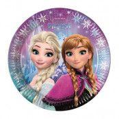 Disney Frozen Northern Lights Tallrikar 8 st