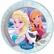 Frost Sisters Papptallrikar