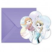 Frozen Sparkle Inbjudningskort