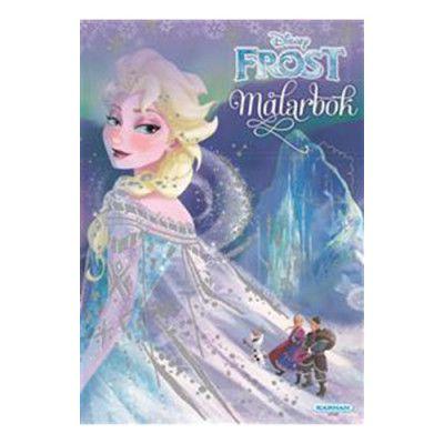 Målarbok Frost/Frozen