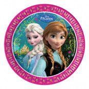 Papperstallrikar Frozen - 8-pack