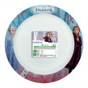 Papperstallrikar Frozen/Frost FSC - 8-pack
