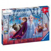 Ravensburger Disney Frozen 2 Pussel (2x12-bitar)