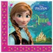 Disney Frost Annaservetter 2-lagers - 20 st