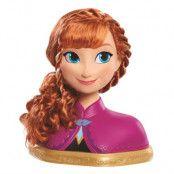 Disney Frozen Anna Frisyrhuvud Deluxe
