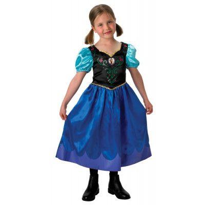 Disney Frozen Anna Klänning (Blå)