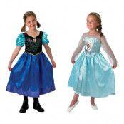 Disney Frozen Anna och Elsa Klänningar