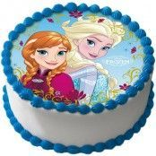 Frost Tårtoblat Elsa och Anna C