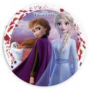 Frozen 2 Papptallrikar