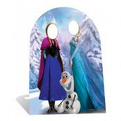 Disney Frost/Frozen Stand-In Kartongvägg