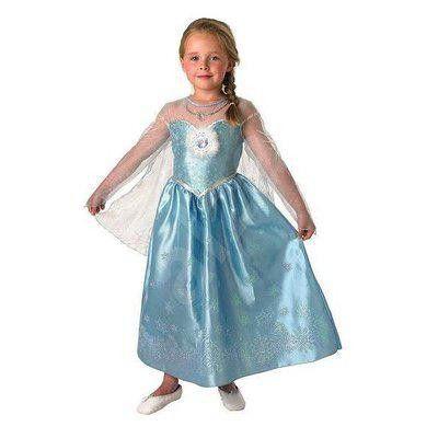 Disney Frozen 2 Elsas Klänning (Stl M)