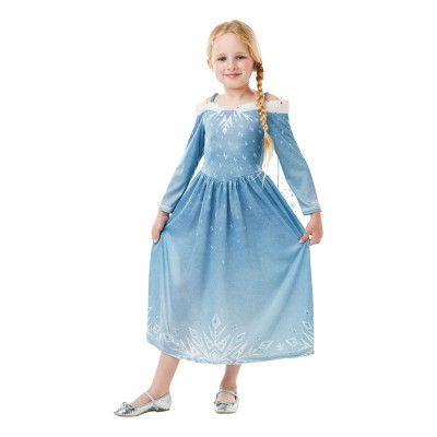 Elsa Frozen Adventures Barn Maskeraddräkt - Small