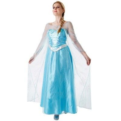 Frost Elsa Maskeraddräkt (Small)