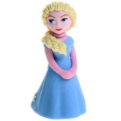 Frost Elsa Sockerdekoration