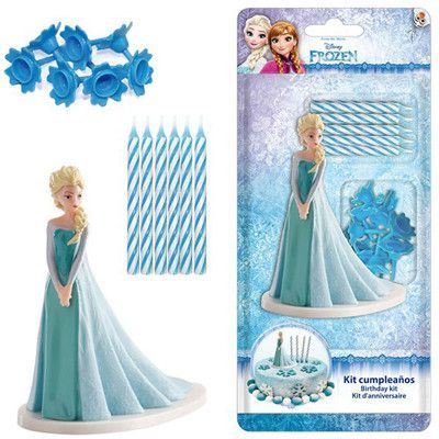 Frost Elsa Tårtdekoration
