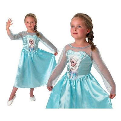 Disney Frost/Frozen Elsa Teen Maskeraddräkt - Small/Medium