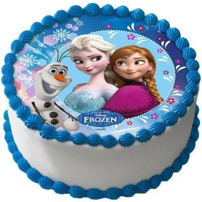 Frozen Tårtoblat Sockerpasta D