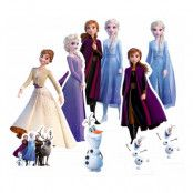 Frost/Frozen Mini Kartongfigurer