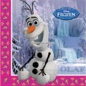 Disney Frost Olaf pappersservetter 2-lagers papper - 20 st