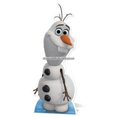 Disney Frost Olaf snögubbe pappfigur - 89cm