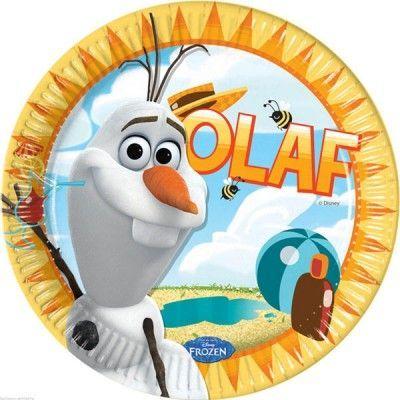 Frost Olof Sommar Papptallrikar