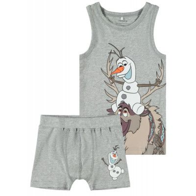name it Frozen Olaf Boxer&linne (Grey melange)