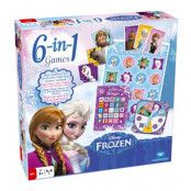 Disney Frozen 6in1 Barnspel