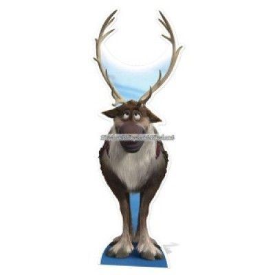 Disney Frost Sven Reindeer pappfigur - 192cm