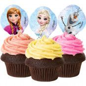 Frost Muffins- och Tårtdekorationer Ätbara
