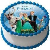 Frost Tårtbild Sockerpasta A