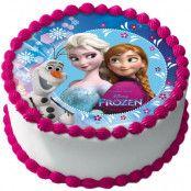Frozen Tårtoblat Sockerpasta