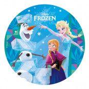 Tårtbild Frozen