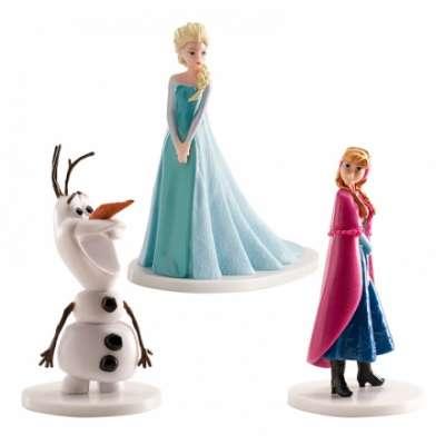 Tårtfigurer Frost/Frozen